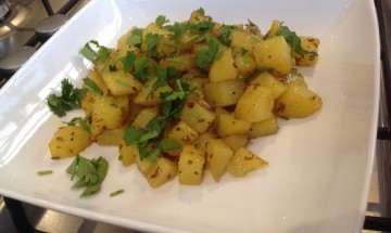 Ranju Indian Recipes - Jeera Potatoes